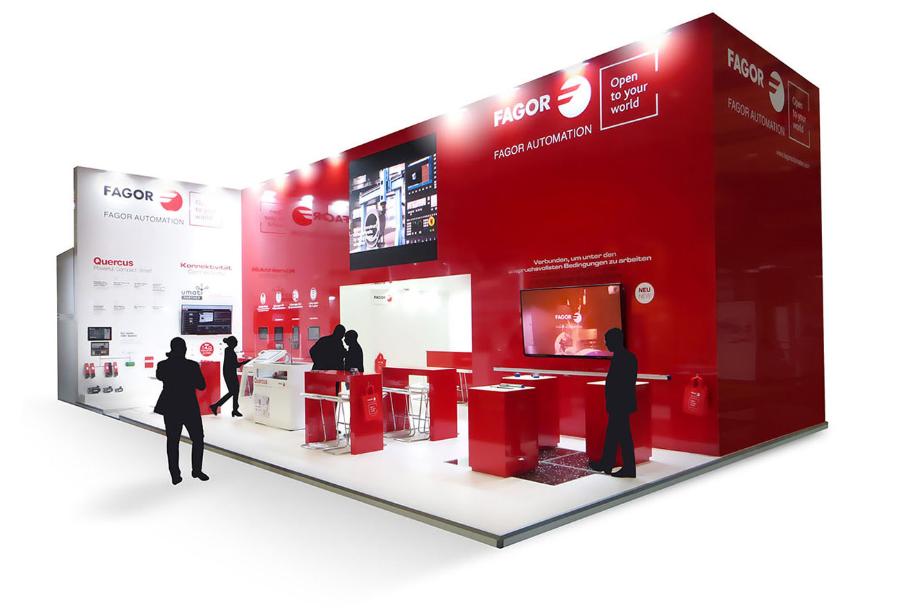 Fagor automation stand EMO 2019