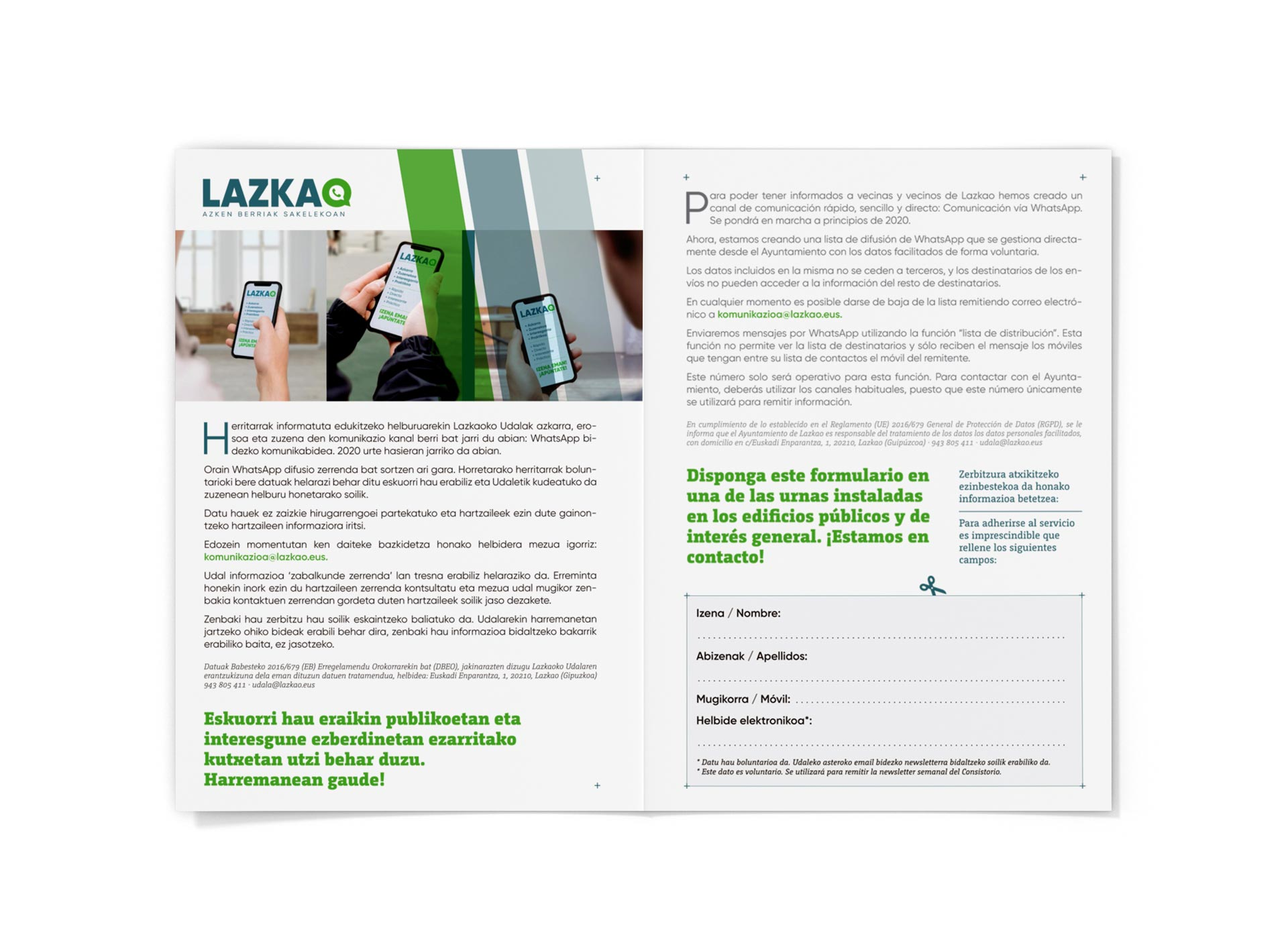Lazkao whatsapp folleto interior