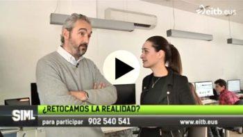 """Adaki Komunikazioa habla del photoshop para el programa """"Sin ir más lejos"""" presentado por Klaudio Landa en ETB."""